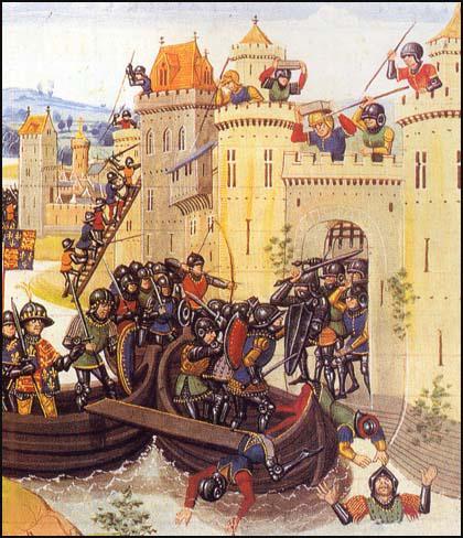 siège de Tournai par Edouard III en 1340
